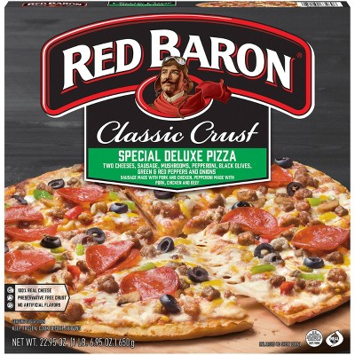 Red Baron Classic Special Deluxe Frozen Pizza - 22.95oz