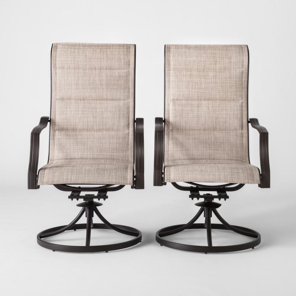 Marrion 2pk Sling Swivel Rocker Patio Dining Chair - Threshold