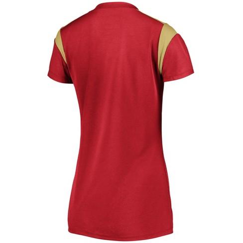 d33d5d988 San Francisco 49ers Women s Shimmer Top Fashion Top   Target