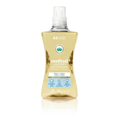 method Free + Clear Laundry Detergent -  53.5 fl oz
