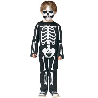 Fun World Scary Skeleton Toddler Costume