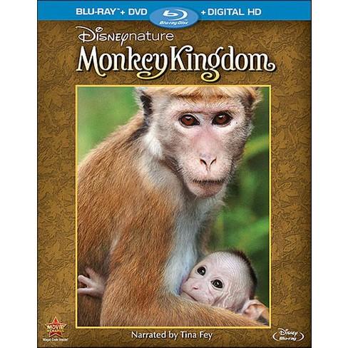 Disneynature: Monkey Kingdom [Blu-ray/DVD] [2 Discs] - image 1 of 1