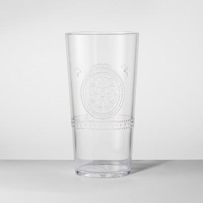 Plastic Tumbler 22oz Clear - Opalhouse™