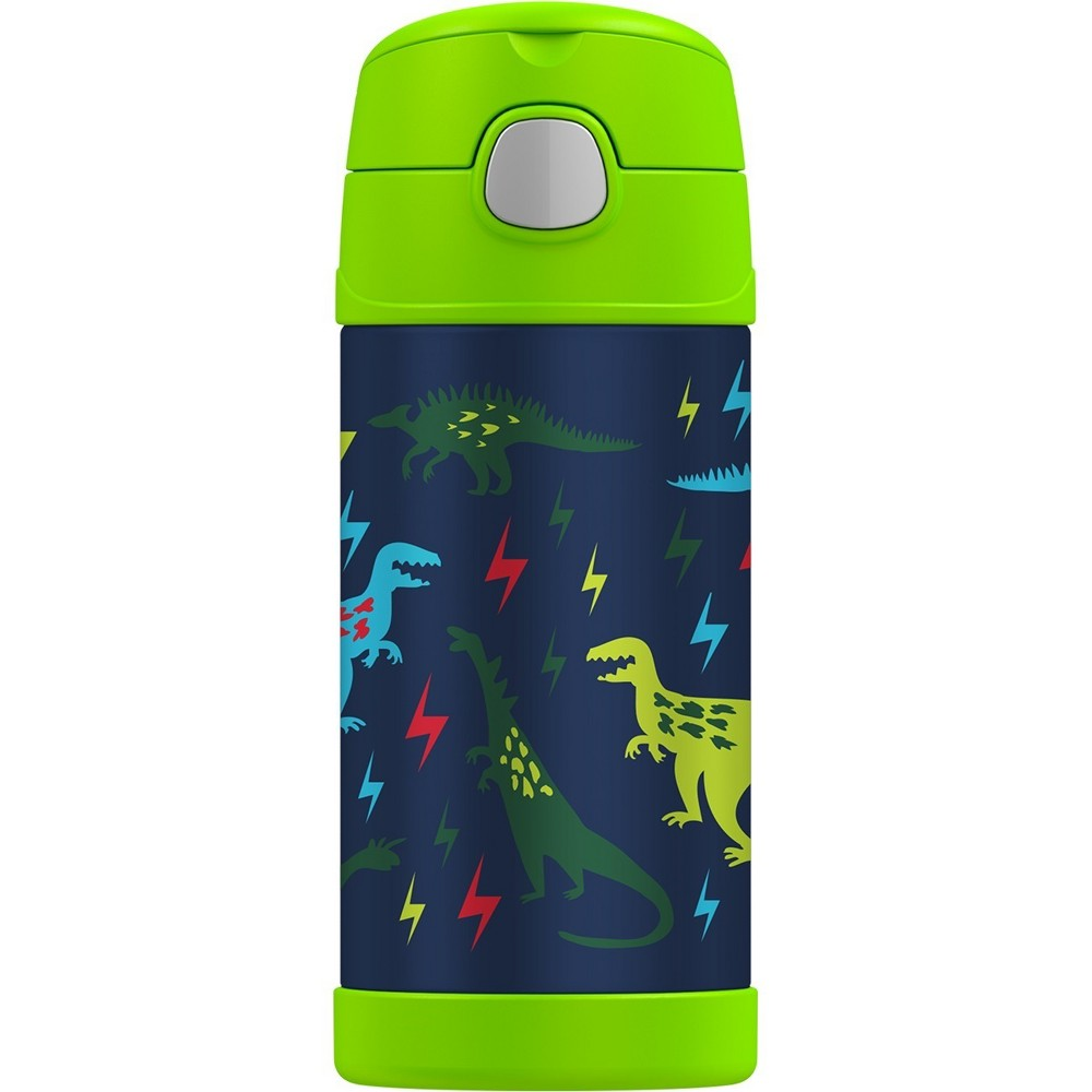 Thermos Crckt 12oz Funtainer Bottle - Dino