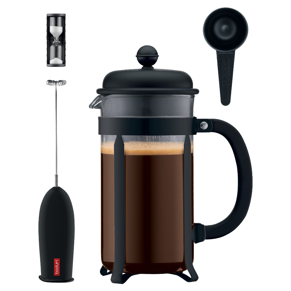 Bodum Java Coffee Press 4pc Set – Black 52516503