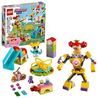 LEGO PowerPuff Girls Bubbles Playground Showdown 41287