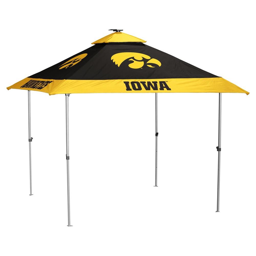 NCAA Iowa Hawkeyes Logo Brands Pagoda 10x10 Canopy Tent