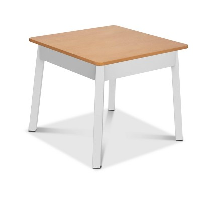 Melissa & Doug Wooden Square Table - White/Natural