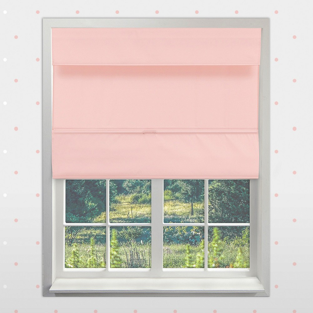 Image of Curtain Panels Chicology Blush Peach Solid