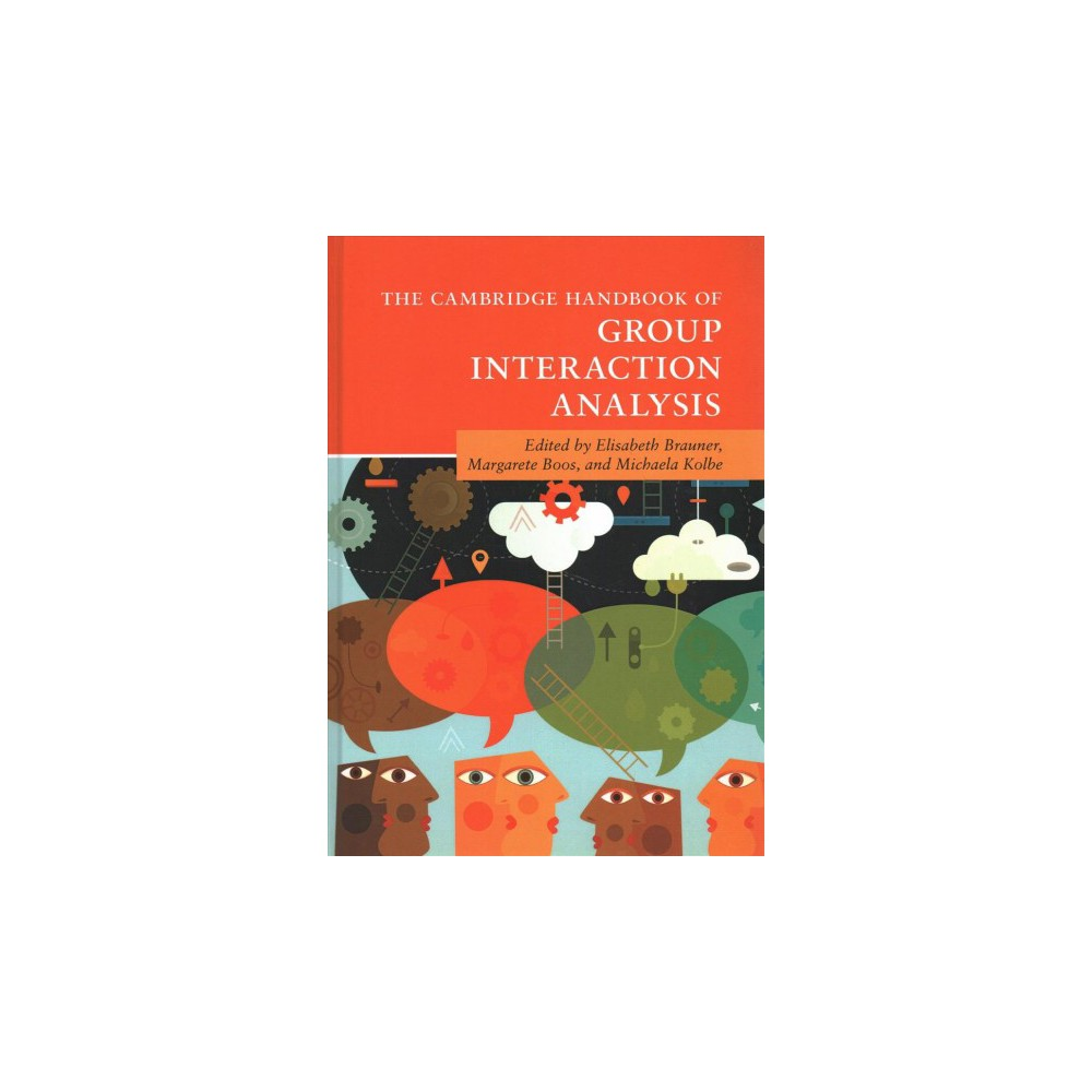 Cambridge Handbook of Group Interaction Analysis - (Hardcover)