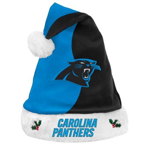 257a9037235a55 NFL Carolina Panthers Santa Hat : Target