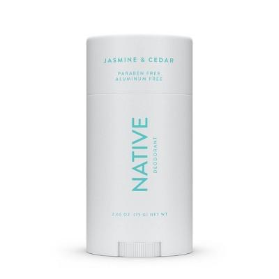 Native Jasmine & Cedar Deodorant for Women - 2.65oz