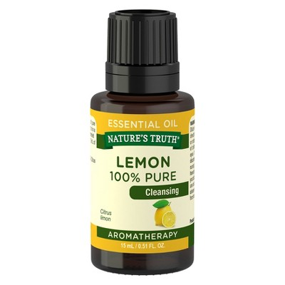 Nature's Truth Lemon Aromatherapy Essential Oil - 15ml