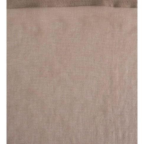 Sunspun 100 Polyester Mesh Tab Top Outdoor Curtain Plow Hearth