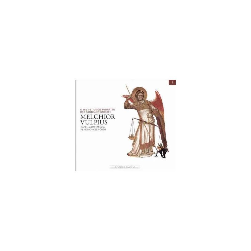 Capella Daleminzia - Vulpius:Motets & Cantiones Sacrae (CD)
