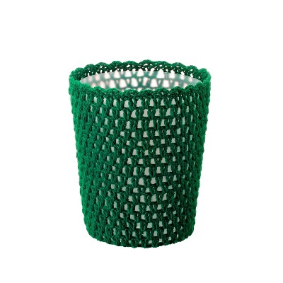 Solid Bathroom Wastebasket Bluff Green - Opalhouse™