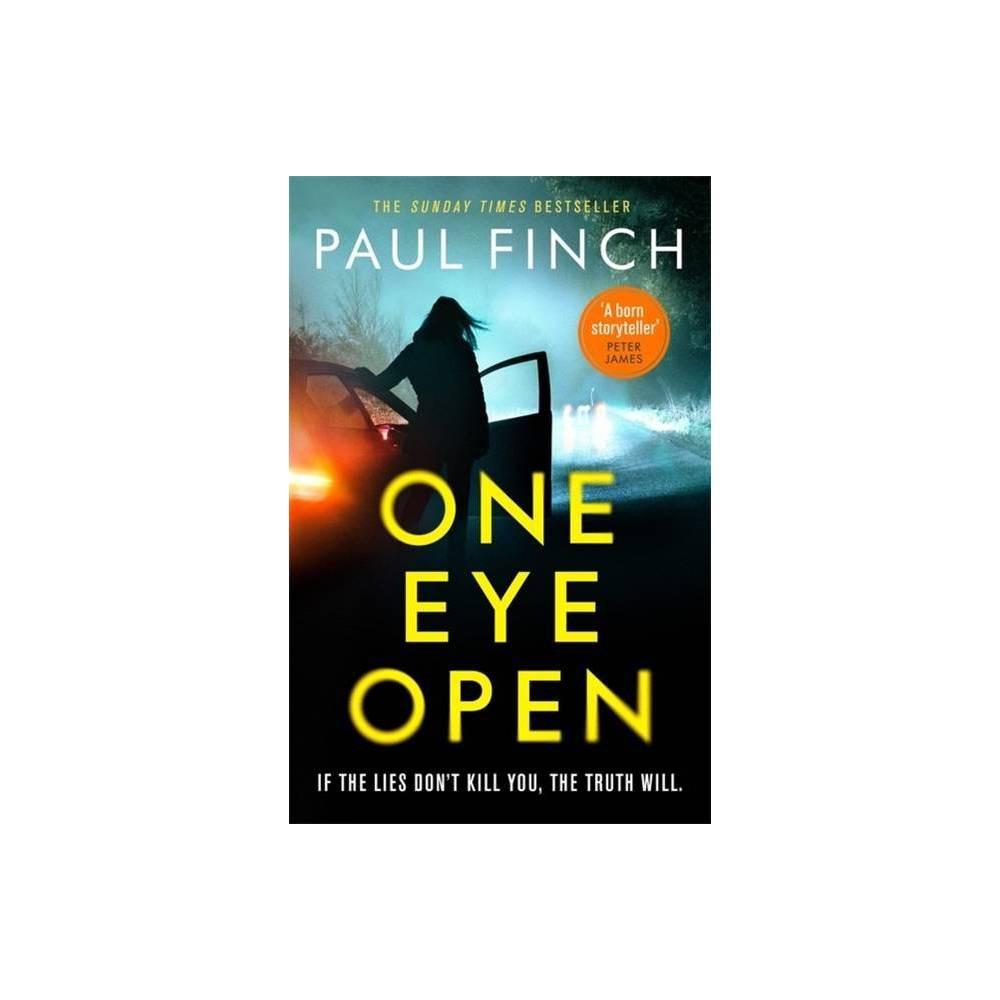 One Eye Open By Paul Finch Paperback