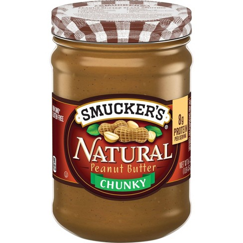 Smucker's Natural Chunky Peanut Butter - 16oz - image 1 of 4