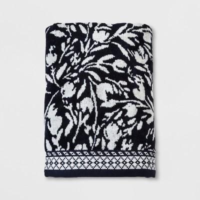 Woven Bath Towel Xavier Navy - Threshold™