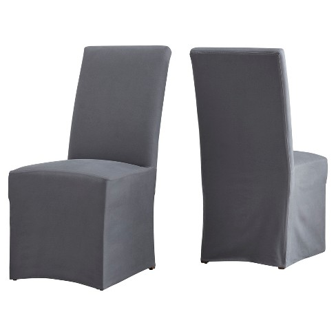 Walton Park Slipcovered Parsons Dining Chair 2 in Set - Inspire Q® - image 1 of 6