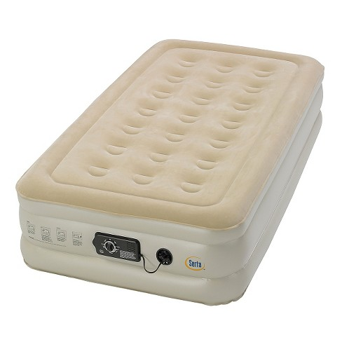 Serta Comfort Air Mattress with Electric Pump - Double High Twin - image 1 of 3