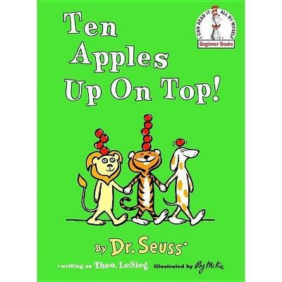 Ten Apples Up on Top! (Beginner Books Series) (Reissue) (Hardcover) by Dr Seuss
