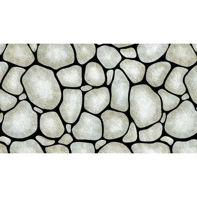 Fadeless Designs Paper Roll, Rock Wall, 48 Inches x 50 Feet