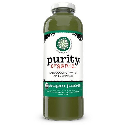 Purity.Organic Kale Coconut Water Apple Spinach Superjuice - 14 fl oz Glass Bottle - image 1 of 1