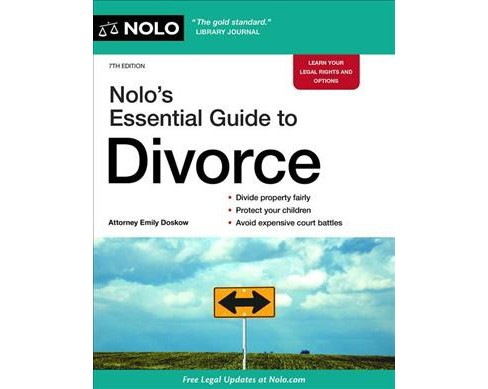 Nolo's Essential Guide to Divorce -  by Emily Doskow (Paperback) - image 1 of 1