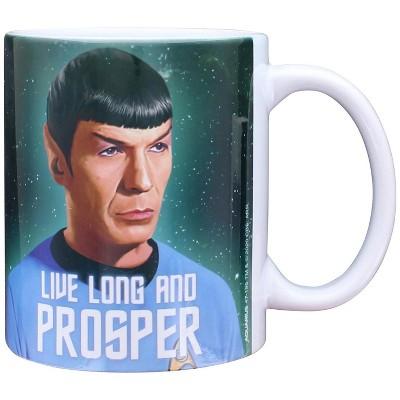 NMR Distribution Star Trek Live Long Spock 11oz Boxed Ceramic Mug