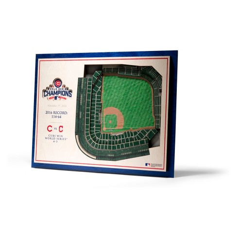 MLB Chicago Cubs 5-Layer Stadiumviews 3D Wall Art - image 1 of 4
