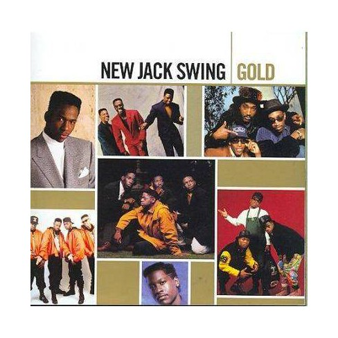 Various - Gold- New Jack Swing (CD) - image 1 of 1