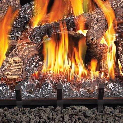 Napoleon Fiberglow 24 Inch Vent Free Log Set Insert For Propane Gas