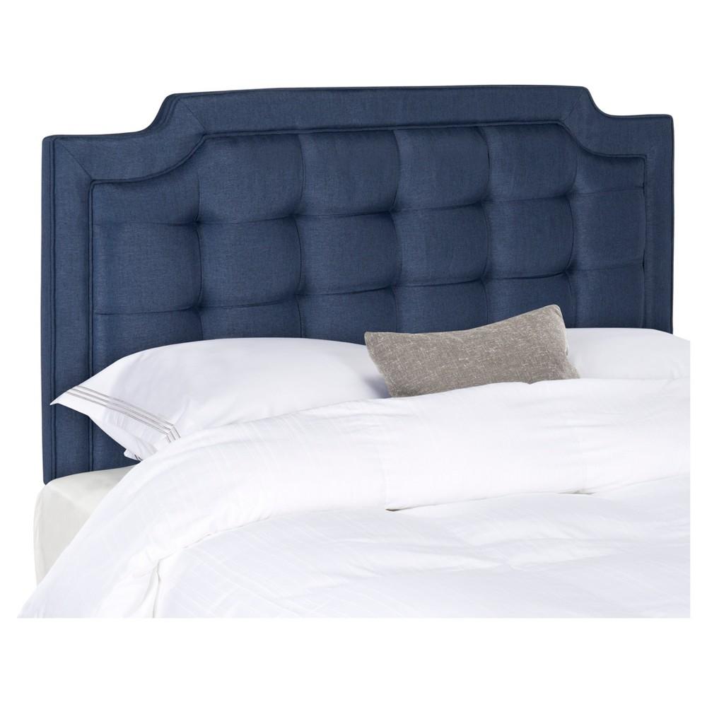 Saphire Headboard - Navy (Blue) (Queen) - Safavieh