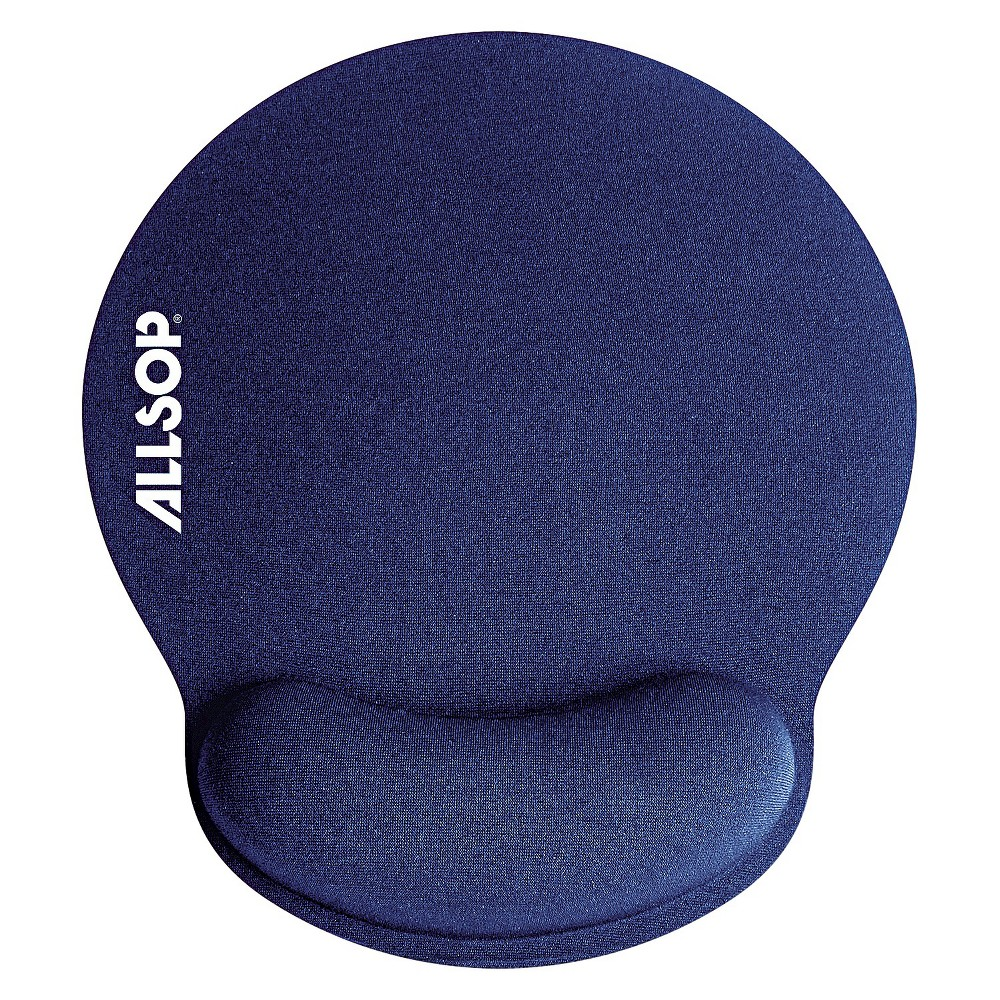 Image of Allsop Mouse Pad with Wrist Rest - Blue