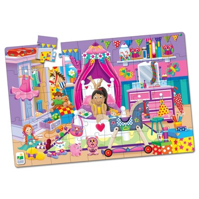 The Learning Journey Jumbo Floor Puzzles In My Room 50 pcs