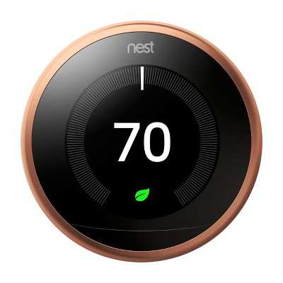 Nest Learning Thermostat - 3rd Generation, Copper