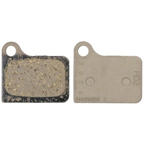 Shimano M02 Resin Disc Brake Pads and Spring for Deore M555 Calipers - image 1 of 1