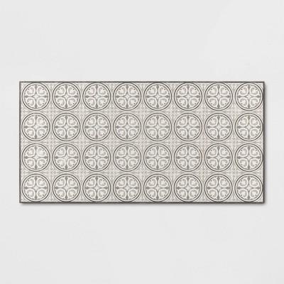 Medallion Tile Vinyl Accent Mat - Threshold™