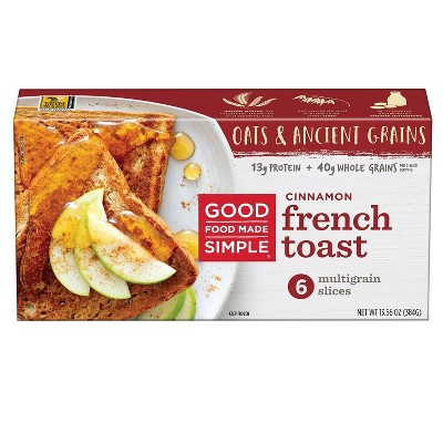 Good Food Made Simple Frozen Cinnamon French Toast - 13.56oz