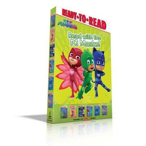 Read with the Pj Masks! - by  Various (Paperback) - image 1 of 1