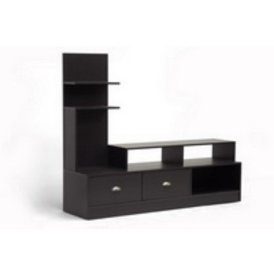 Armstrong Modern TV Stand Dark Brown - Baxton Studio