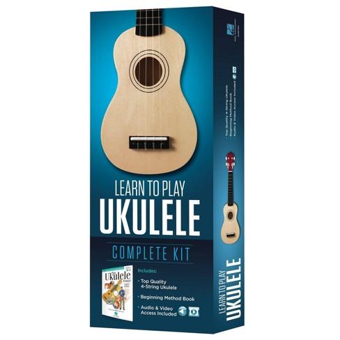 Hal Leonard Learn To Play Ukulele Kit - Washed Wood (274381) - image 1 of 3