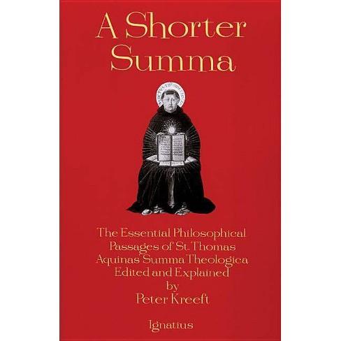 A Shorter Summa - by  Peter Kreeft (Paperback) - image 1 of 1