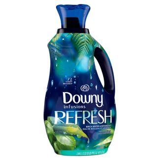Downy Infusions Liquid Fabric Softener, Refresh, Birch Water & Botanicals - 48oz