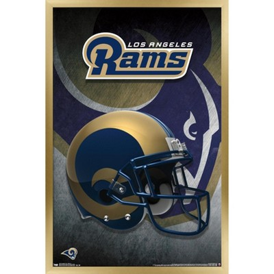Trends International NFL Los Angeles Rams - Helmet 16 Framed Wall Poster Prints
