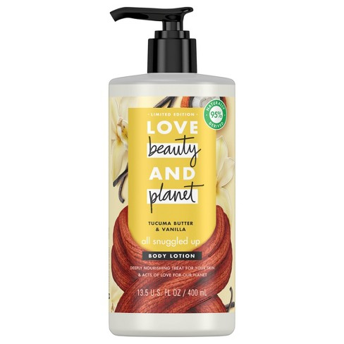 Love Beauty and Planet Tucuma Butter and Sweet Vanilla Body Lotion - 13.5 fl oz - image 1 of 3