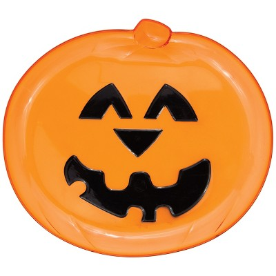 Pumpkin Serving Tray Orange