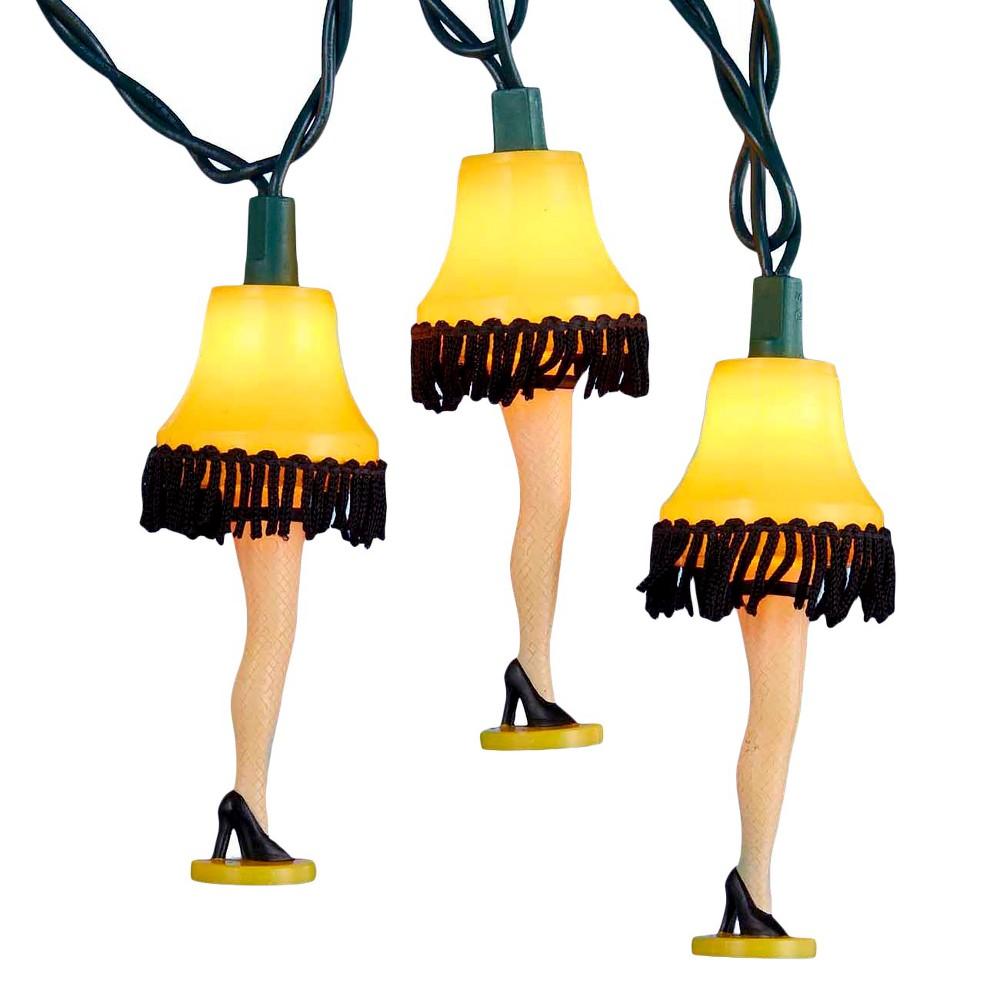 Image of A Christmas Story 10ct Leg Lamp Christmas String Lights