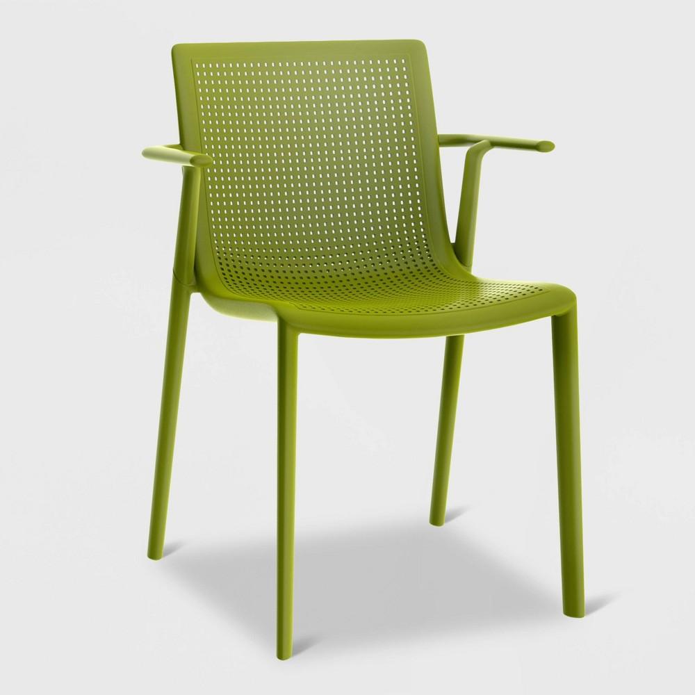 Image of Beekat 2pk Patio Armchair - Olive Green - RESOL